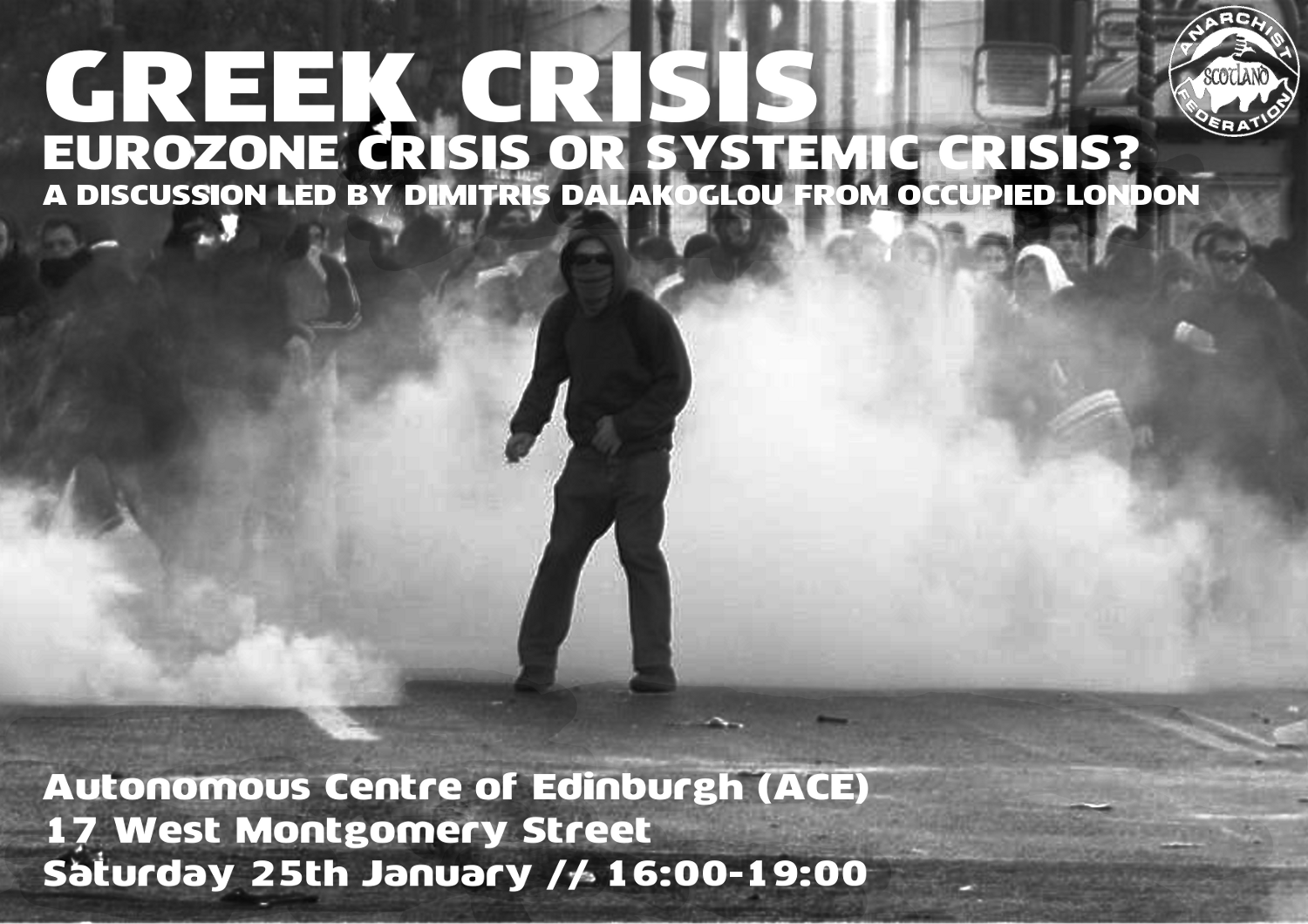 Greek crisis or systemic crisis, Dimitris Dalakoglou