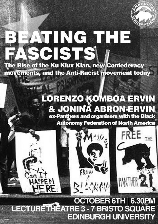 Beating the Fascists: Lessons from the Memphis Black Autonomy Federation