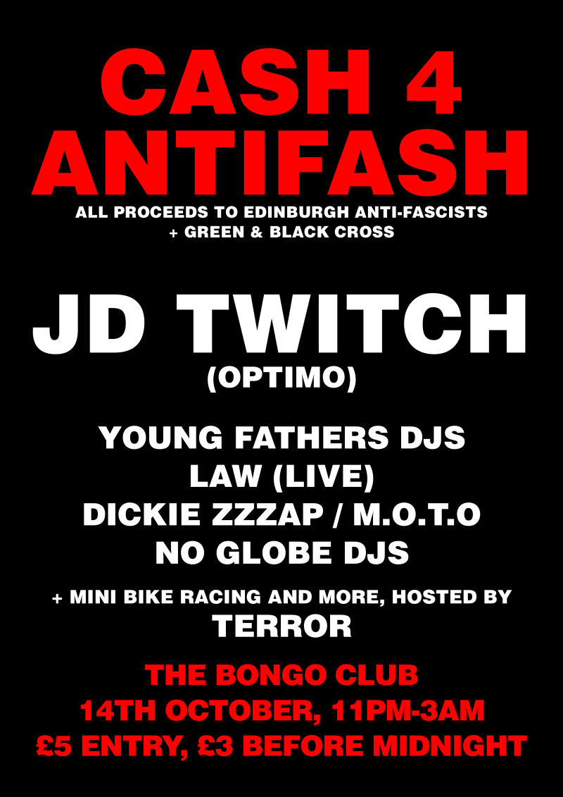 Dance yourself silly on a worknight while smashing fascism