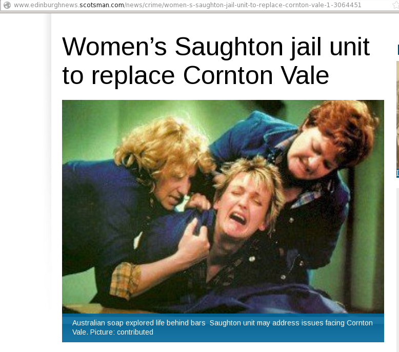 "Evening News: ""Hahaha LOL women prisoners"""