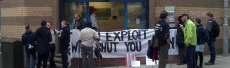 SOLIDARITY ACTION - HIGH RIGGS JOB CENTRE MON 14TH MARCH 3PM