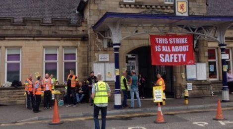 IWW statement on Scotrail dispute
